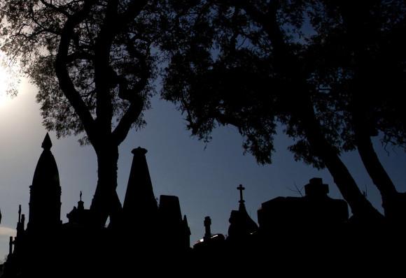Meditación cementerio